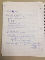 calculus marginal cost The key idea, which is explained in the full mba math course, is that the  derivative of the total cost function is the marginal cost function.