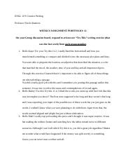 Creative Writing- Weekly Assignment Portfolio 12.docx