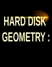 Disk Geometry.ppt