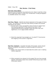 Final Essay PR sheet eng 193