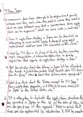 Strategic Management Class Notes 11