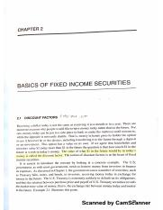 Chapter 2 Fixed income part 1