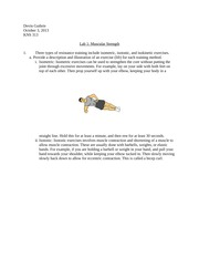 Lab Report 1- Muscular Strength