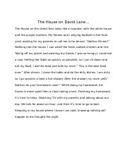 The House on David Lane.docx