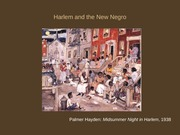 5 Harlem and the New Negro