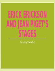 Erick Erickson and jean piget's stages.pptx