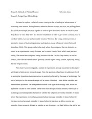 History Research Design Paper 2