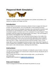 1-Peppered Moth Simulation - Exploring Change Peppered ...