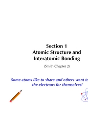 Section 1A AtomicStructure