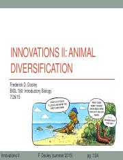 23 Innovations II Animal diversification after class update.pdf