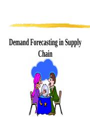 Chapter 3 Forecasting