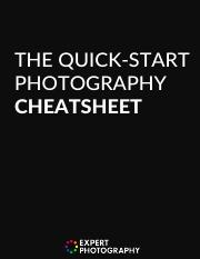 The+Quick-Start+Photography+Cheatsheet