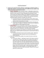 Apush Unit Vi Leq Topics Pdf Long Essay Questions 1 Compare And
