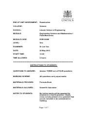 EGR1002M Fluid Mechanics Exam MAIN 2012-2013(1)