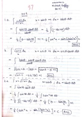 Trigonometric Identities in Integrals