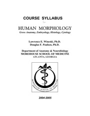 The_Human_Morphology_Course_Syllabus
