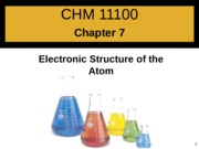 Chapter 7 - Atomic Structure_post