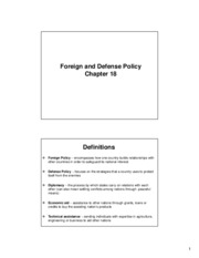 Ch 18 Foreign and Defense Policy(3)