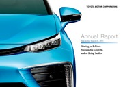 Annual Report Toyota Motor Corp 2014