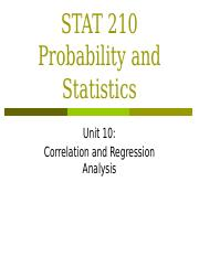 Unit 10_ Correlation and Regression Analysis.pptx