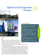 Chapter 20  Options and Corporate Finance