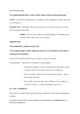 week 4 notes - Consumer behaviour