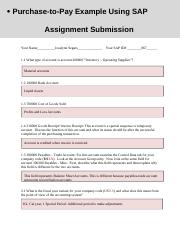 Procure to Pay Submission Form.docx
