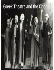 Greek Theatre & Chorus.ppt