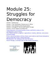 Module 25_ Struggles for Democracy.docx