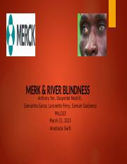 Merck and River Blindness