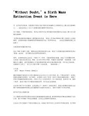 02CN-'Without Doubt,' a Sixth Mass Extinction Event is Here.pdf