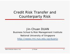 JCD_Credit Risk Transfer and Counterparty Risk.pdf