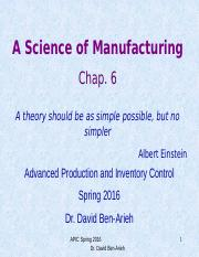 Chapter_6 Science of Manufacturing.pptx