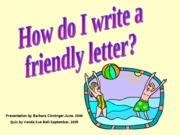 FriendlyLetter