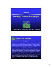 ParagraphCohesion