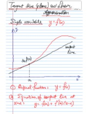linearApproximation