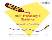 Lecture 02-probability