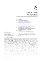 Construction Automation