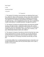 ch 5 assignment word document
