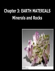 Lecture 7_8Earth materials_minerals part 1