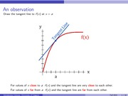 Linear approximations and differentials