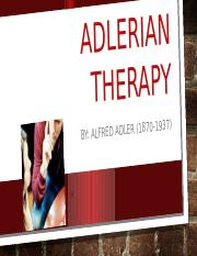 Adlerian therapy - sol.pptx
