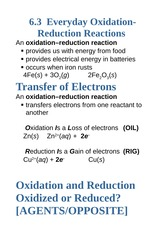 6.3+Oxidation-+Reduction+Reactions