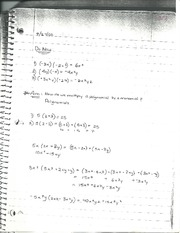 How do we multipy polynomials by monomials