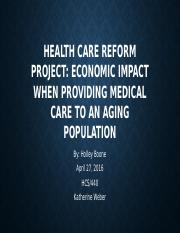 Health Care Reform Project.pptx