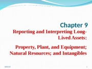 Chapter 9 Lecture Notes 4th Edition LIbby - GQF Student Version