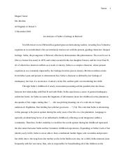 Beloved Essay