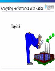 Topic 2a  Analysising performance with financial ratios.pptx