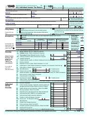 ACC 341 form 1040