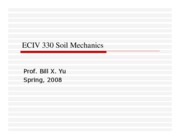 ECIV 330 Soil Mechanics  Chapter2 Basic Characteristics of Soils